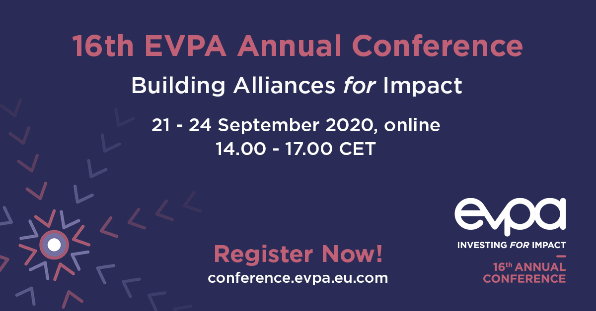 Registrations open for the 16th EVPA Annual Conference!